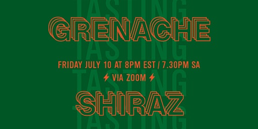 Grenache & Shiraz Virtual Tasting