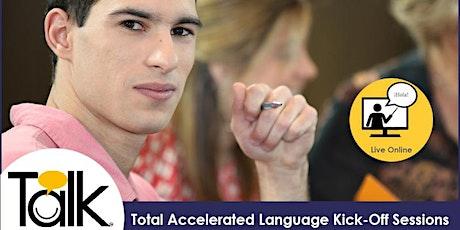 TALK in Spanish Live Online: Higher Beginnes (Mondays) entradas