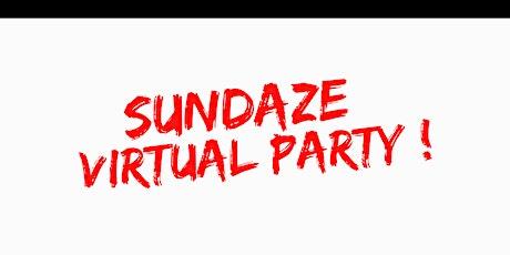 Sundaze Virtual Party tickets