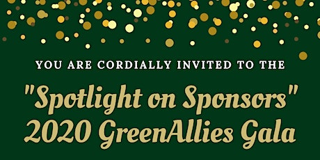 GreenAllies Gala 2020: Spotlight on Sponsors tickets