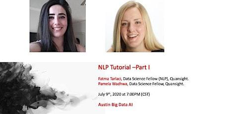 NLP Tutorial –Part I tickets