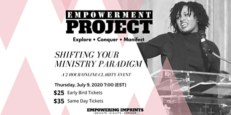 Shifting Your Ministry Paradigm: An Empowerment Project Webinar tickets