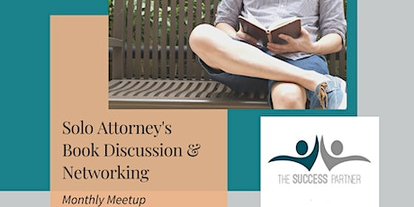 """After you hang your Shingle"" - Solo Attorney's Book  Discussion tickets"