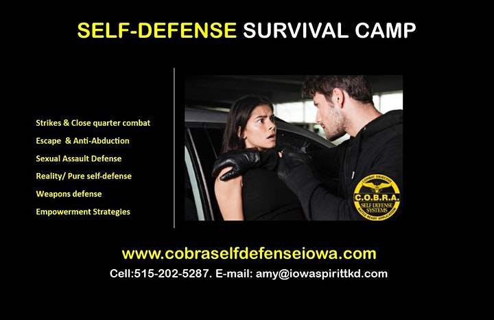 1 Day Self Defense/ Empowerment Camp for Adults image