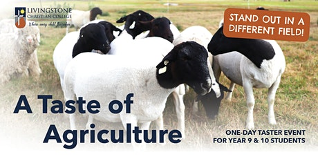 A Taste of Agriculture - One-day Taster Event for Year 9 & 10 Students tickets