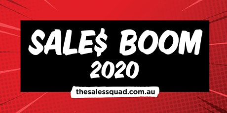 Sales Boom! 2020 tickets