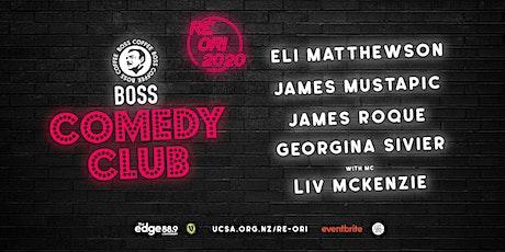 UCSA Re-Ori 2020 | Boss Coffee Comedy Club (R18) tickets