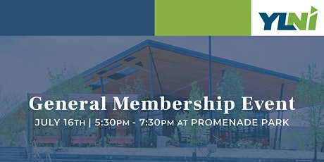 YLNI General Membership Event tickets