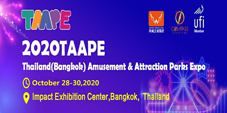 The Thailand(Bangkok) Amusement & Attraction Parks Expo(TAAPE) tickets