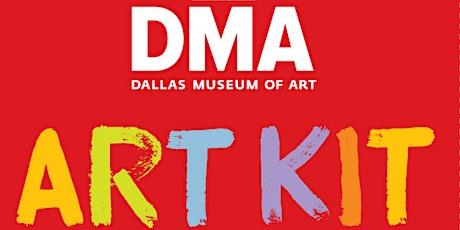 DMA Youth Art Kits /Kits de arte tickets