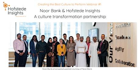 Noor Bank & Hofstede Insights:  A culture transformation partnership tickets