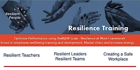 Resilient Teachers   Online MODULE 1 13th July tickets
