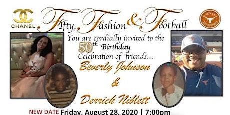 Beverly & Derrick 50th Birthday Celebration tickets