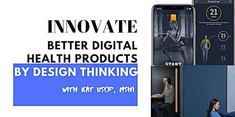 #mHealthUX MINDSHOP™| How To Design a Digital Health App ingressos