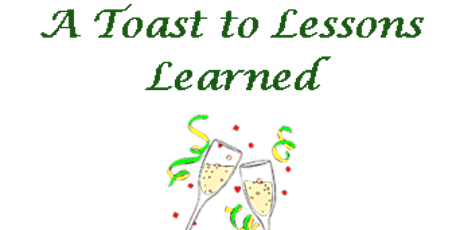 A Toast to Lessons Learned tickets