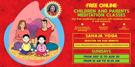 Free 8-week Online Meditation course for Parents and Kids tickets