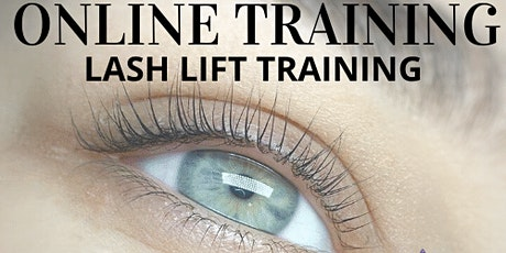 Lash Lift Online Training by Pearl Lash tickets