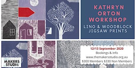 Woodblock & Jigsaw prints - Kathryn Orton tickets