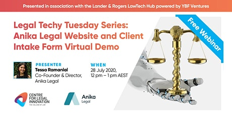 LTTS: Anika Legal Website & Client Intake Form Virtual Demo tickets