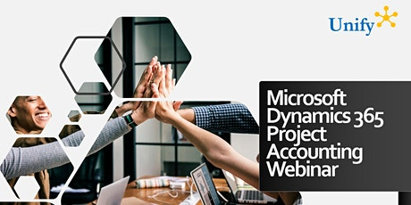 Microsoft Dynamics 365 Project Accounting  Software Webinar tickets
