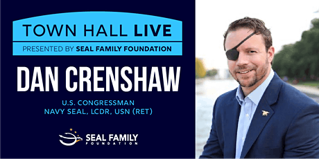 Town Hall Live With U.S. Congressman Dan Crenshaw tickets