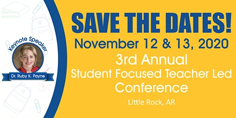 Student Focused Teacher Led Conference 2020 tickets