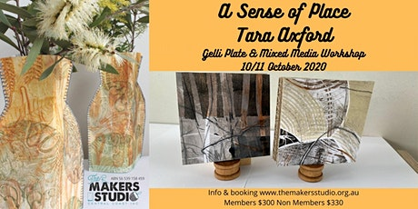 Gelli Plate & Mixed Media - Tara Axford tickets