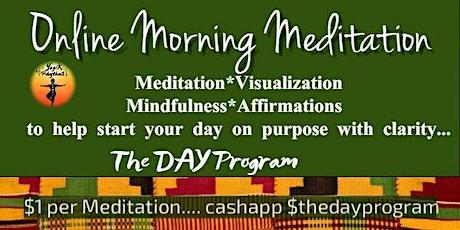 Online Morning Meditation tickets
