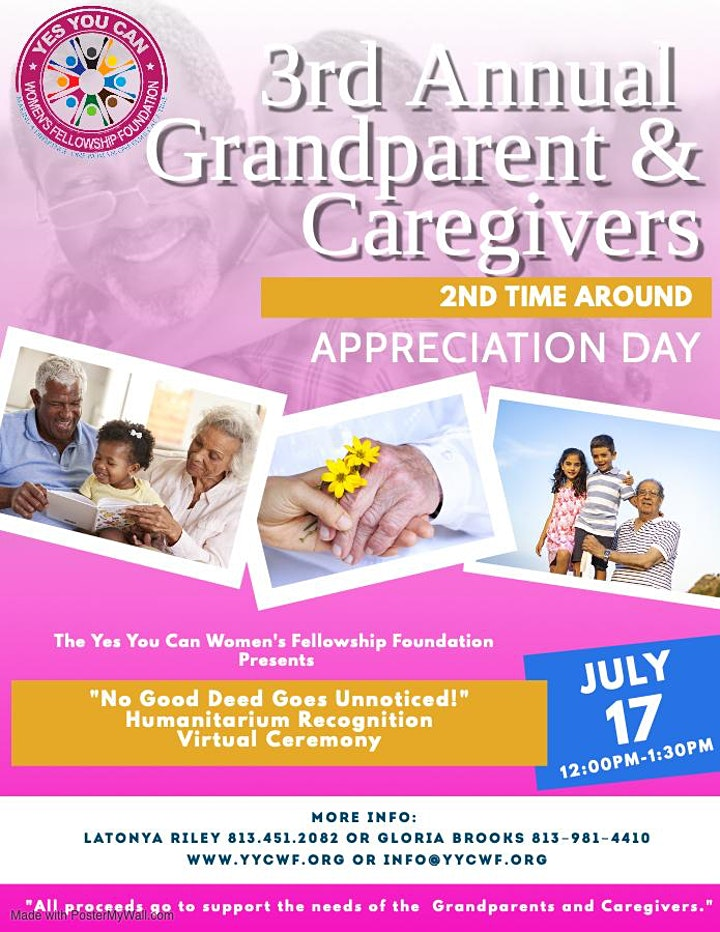 3rd Annual Grandparent's and Caregivers Appreciation Day image