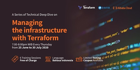 Alibaba Cloud Indonesia: Managing The Infrastructure with Terraform Series tickets