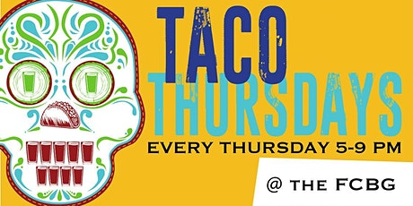 Taco Thursdays at the Franksville Craft Beer Garden tickets