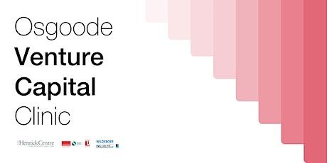 Osgoode Venture Capital Clinic Presentation biglietti