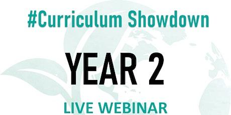 #CurriculumShowdown - Year 2 tickets