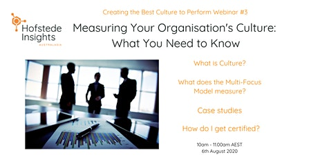 Measuring Your Organisation's Culture...what you need to know! tickets