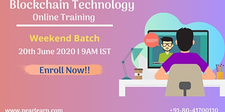 Blockchain online Training 20 June tickets