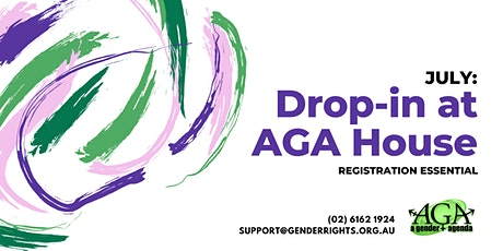 JULY: Drop-In with AGA tickets
