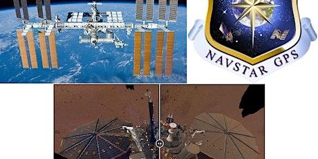 Bill Gerstenmaier (SpaceX), Bruce Banerdt (JPL), and Frank Czopek (GPS) tickets