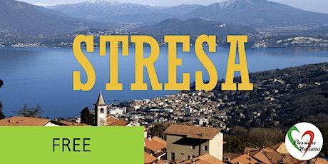Virtual Tour of Italian Cities - Straordinaria Stresa tickets