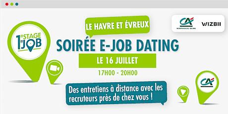 E-Job Dating Eure et Seine Maritime : décrochez un emploi ! billets