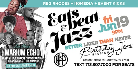 FREE with RSVP - EATS BEATS & JAZZ - Henke & Pillo tickets