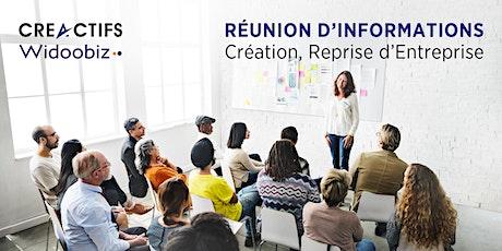 Réunion d'informations à la Création, Reprise d'Entreprise billets