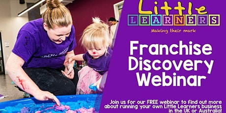 Webinar: The Little Learners Franchise Opportunity tickets