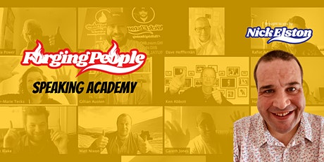 Forging People Speaking Academy - July 2020 tickets