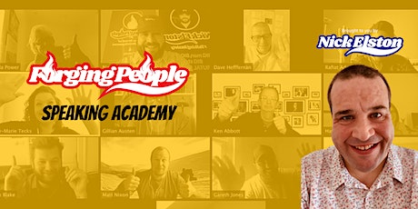 Forging People Speaking Academy - August 2020 tickets