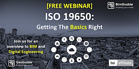 ISO 19650: Getting the Basics Right tickets