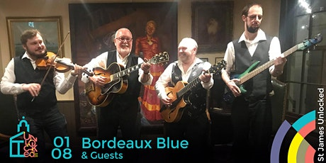 Bordeaux Blue  @ St James Unlocked tickets