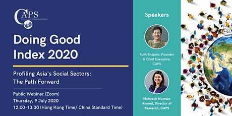 Doing Good Index 2020 | Profiling Asia's Social Sectors: The Path Forward tickets