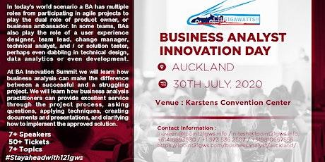 Business Analyst Innovation Online Summit (NZT Zone) on 30 July tickets