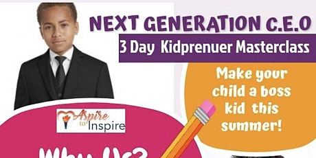 3 Day Kidpreneur Masterclass tickets
