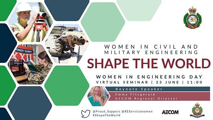 Shape the World: Women in Civil and Military Engineering image